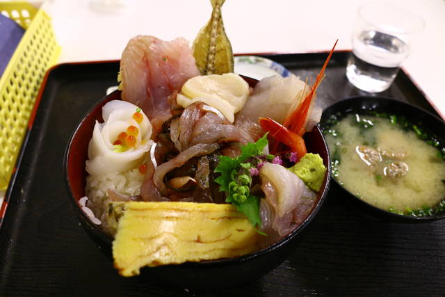 限定30食の小田原丼
