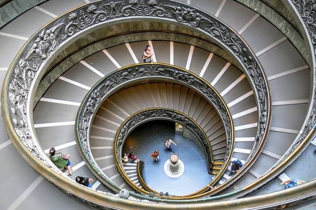 Foto gratis: Musei Vaticani, Spirale, Passi - Immagine gratis su Pixabay - 1519921 (30723)