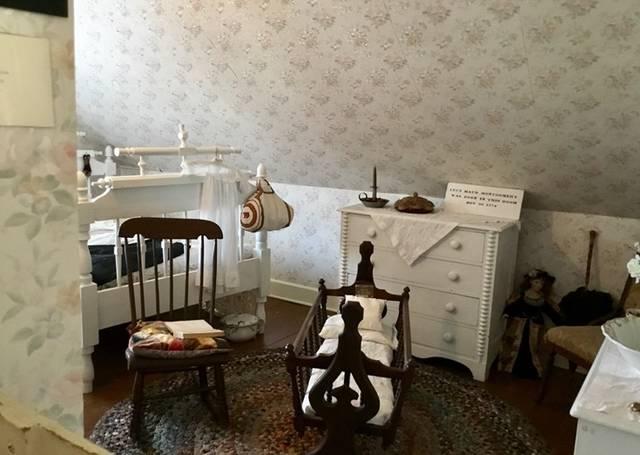 モンゴメリーが生まれた部屋