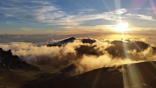 Free photo: Haleakala, Sunrise, Clouds, Hawaii - Free Image on Pixabay - 1926875 (37234)