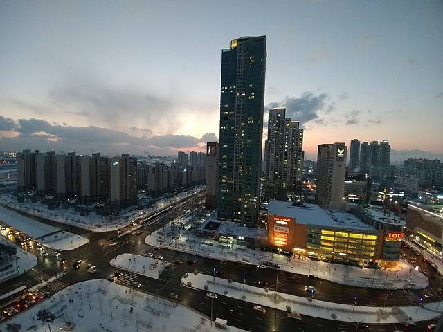 Foto gratis: Cheongna, Incheon, Invierno, Ciudad - Imagen gratis en Pixabay - 2068065 (41374)