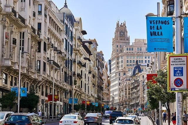 España Madrid Gran Via · Foto gratis en Pixabay (48020)