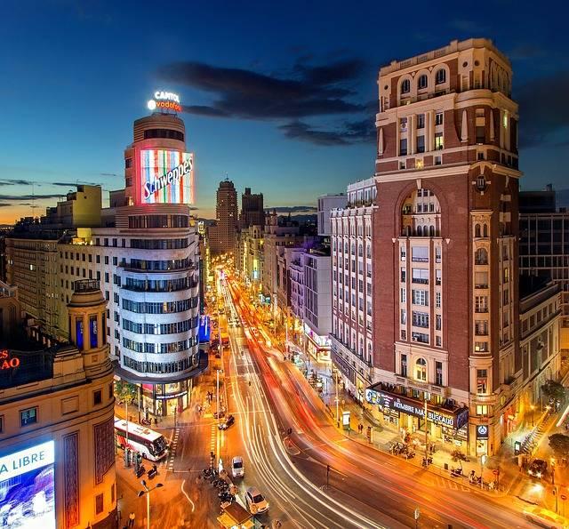 Madrid Plaza Del Callao España · Foto gratis en Pixabay (48764)