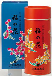 極上銘々味附海苔「梅の花」1号缶