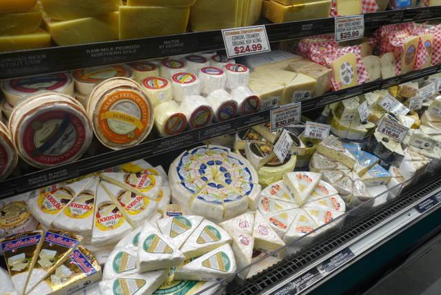 地産地消のチーズ