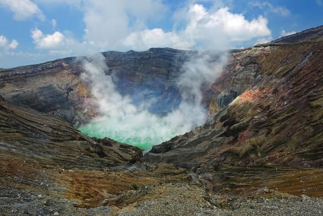 阿蘇山 中岳火口